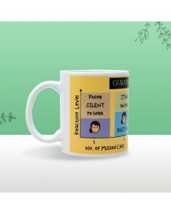 Mug For Filmy Mom (Yellow) - Seniority