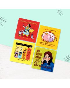 Mom And Her Ways Of Love Coasters (Set of 4) - Seniority