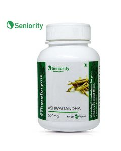 Ashwagandha Pure Extract 500 mg (60 Capsules) - Seniority
