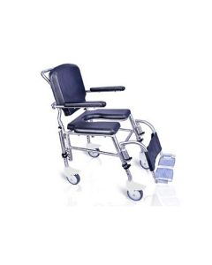 Assisted Shower  Commode Wheelchair SAS100 - Arcatron