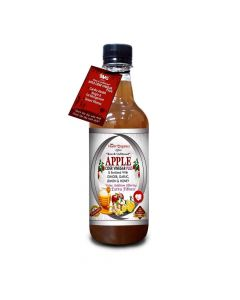 Apple Cider Vinegar Plus With Ginger-Garlic-Lemon-Honey - AVG Health Organics