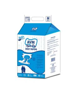 Comfort Adult Diapers (10 Pieces) - AVM Super Dry