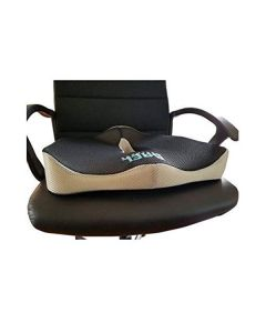 Black Support Seat Cushion - Bael Wellness