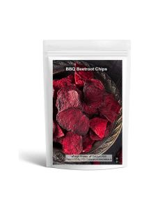 Barbeque Flavoured Beetroot Chips Pack of 2 - Fabbox