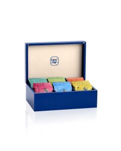 Assortment of 6 Teas in a Wooden Gift Box (60 Tea Bags) - Chai Craft
