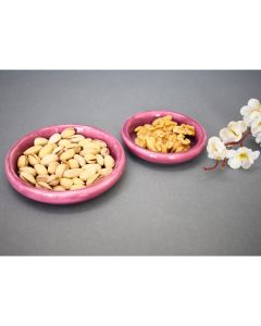 Snack and Trinket Plate Set (Burgundy) - Color Palatte