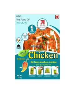 Butter Chicken (Boneless) with Heater Bag - Non veg (250 gm) - Move On