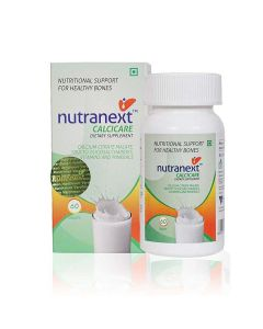Calcicare Dietary Supplement (60 Tablets) - Nutranext