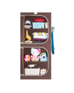 4-ShelfCollapsible Wardrobe - CbeeSo