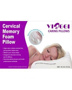 Memory Foam Cervical Pillow- Viaggi