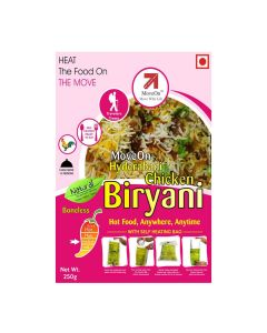 Chicken Boneless Biryani with Heater Bag - Non veg (250 gm) - Move On