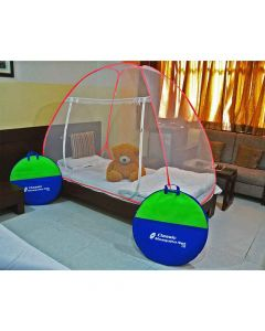 Foldable Mosquito Net For Single Bed - Classic Mosquito Net