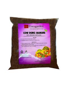 Cow Dung Compost Manure - Organic Fertilizer for Plants - Cocogarden