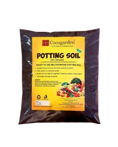 Organic Ready to Use Potting Soil Mix - Cocogarden