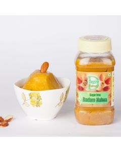 Sugarfree Badam Halwa - Dezire Natural