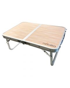 Double Fold Table M503 (Orange Top) - Mobilita