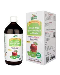 Sweet-Stevia Apple Cider Vinegar (500 ml) - Dr Patkar