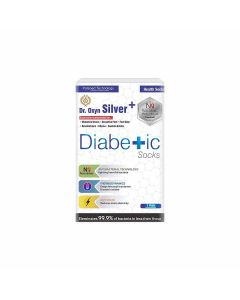Silver Plus Diabetic Socks (One Pair) - Dr. Oxyn