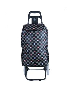 Foldable Shopping Trolley Bag with Wheels - Everbest