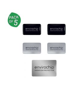 Immunity Booster Radiation Protection Chip (Family Pack - Pack of 5) - Envirochip