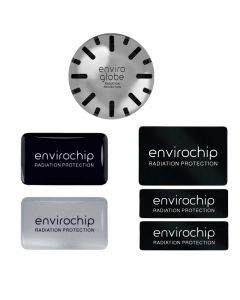 Immunity Booster & Radiation Protection Combo - Pack of 4 (1 Enviroglobe + 2 Mobile Chips + Laptop Chip) - Envirochip & Enviroglobe