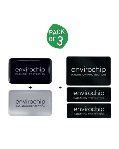 Immunity Booster Radiation Protection Chip for Professionals (Pack of 3) - Envirochip