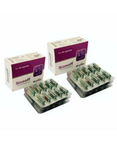 Weight Loss SizeOff Capsules (Pack Of 2 - 30 Capsules each) - Exmed