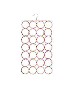 Folding Rope Hanger With Rings - K Kudos