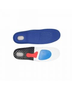 Silicone Shock Absorber Orthotic Sports Foot Sole - Star