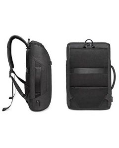 Anti Theft Laptop Backpack With USB Charging Port (Black)