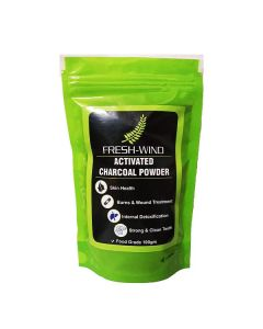Activated Charcoal Powder For Skin Treatment And Teeth Whitening (100 Gm) - Freshwind