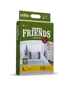 Classic Unisex Adult Underpads (Large) - Friends