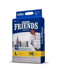Premium Unisex Adult Underpads (Large) - Friends