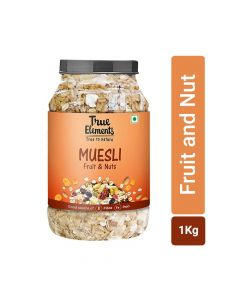 Fruit and Nut Muesli (1000gm) - True Elements