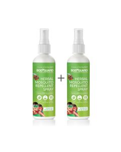 Natural Anti Mosquito Spray  Set of 2 100 ml Each - Bodyguard