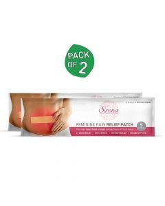 Herbal Pain Relief Patches (2 Pack - 5 Patches Each) - Sirona