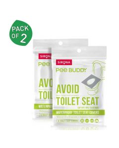 Waterproof Toilet Seat Cover Pack of 3 - PeeBuddy