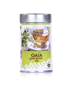 Unflavoured Green Tea Leaves 100 gm (Pack of 2) - GAIA