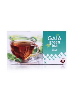 Green Tea Bags (Pack of 2 - 25 pieces) - GAIA