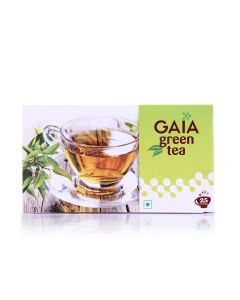 Green Tea Bags (Pack of 3 - 25 pieces) - GAIA