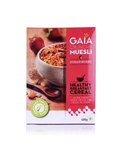 Strawberry Muesli 400 gm (Pack of 2) - GAIA