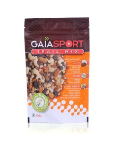 Sport Trail Mix Unflavoured 100 gm (Pack of 3) - GAIA