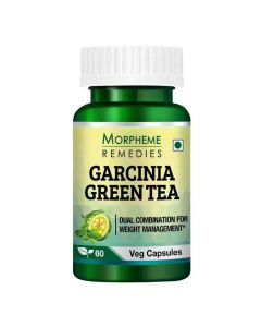 Garcinia Green Tea for Weight Management (60 Capsules) - Morpheme Remedies