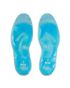 Single Layer Shoe Insoles With Gel - Rexo