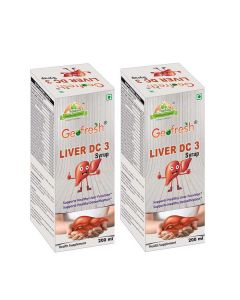 Liver DC 3 Syrup (Pack of 2 x 200 ml each) - Geofresh