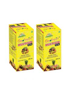 Multivin Syrup (Pack of 2 x 200 ml each) - Geofresh
