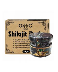 Pure Shilajit Resin (30 gm) - GHC Herbals