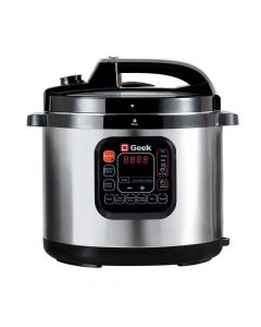 Robocook Automatic Electric Pressure Cooker with Non Stick Pot (8 Litres) - Geek