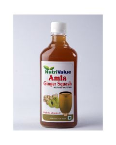 Amla Ginger Squash (2 x 500 ml)- Nutrivalue