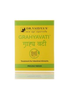 Grahyavati - Ayurvedic Pills for Digestion Ulcerative Colitis and IBS Pack Of 2 - Dr. Vaidyas